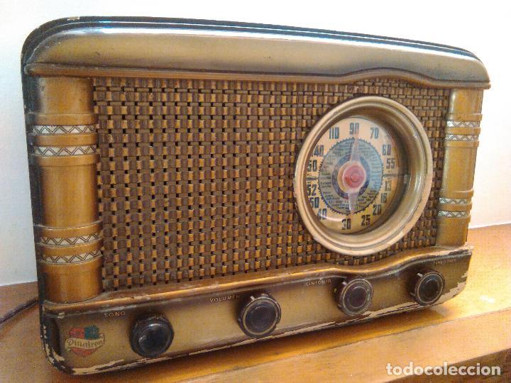 Radios de válvulas: radio a valvulas funcionando - Foto 6 - 118260255