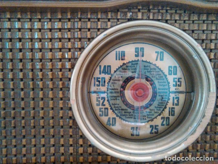 Radios de válvulas: radio a valvulas funcionando - Foto 7 - 118260255