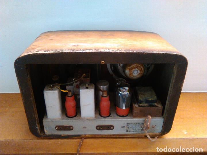 Radios de válvulas: radio a valvulas funcionando - Foto 8 - 118260255