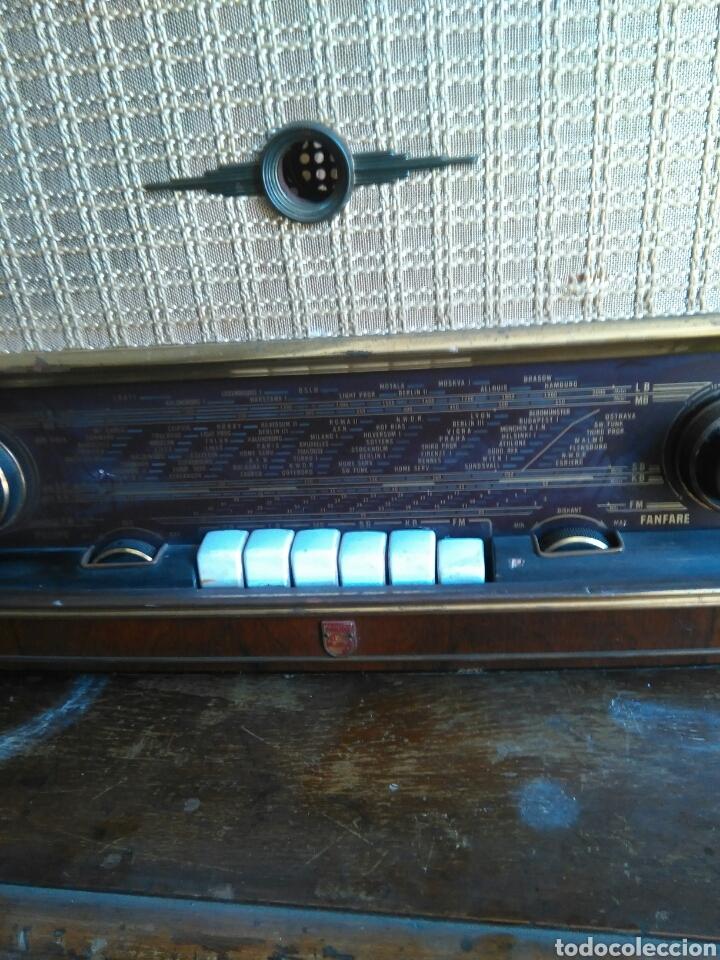 Radios de válvulas: Antigua radio de valvulas philips - Foto 3 - 118575590
