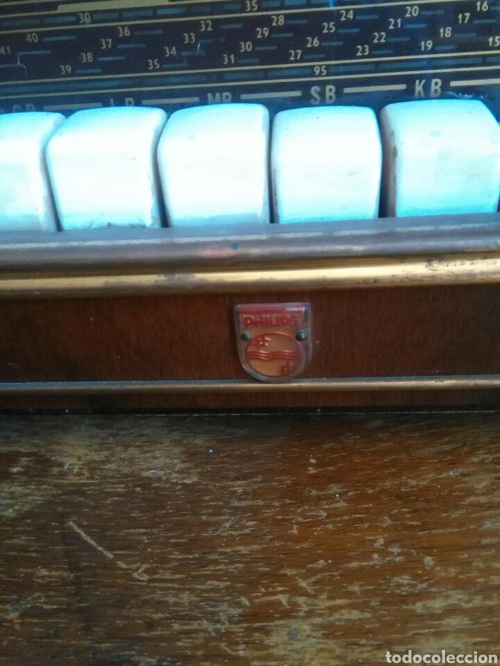 Radios de válvulas: Antigua radio de valvulas philips - Foto 4 - 118575590