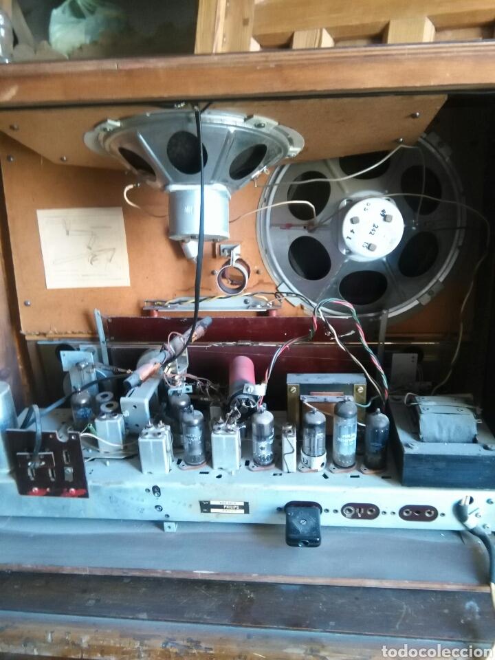 Radios de válvulas: Antigua radio de valvulas philips - Foto 7 - 118575590
