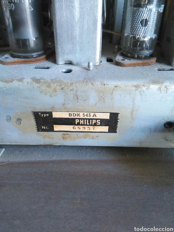 Radios de válvulas: Antigua radio de valvulas philips - Foto 8 - 118575590