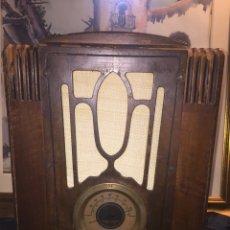 Radios de válvulas: RADIO CAPILLA STEWAR WARNER AMERICANA EN FUNCIONAMIENTO VA 220 V. Lote 119059482
