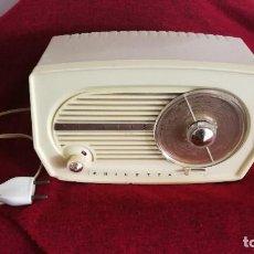 Radios de válvulas: PHILIPS PHILETTA LUX TYPE B1F03U, AÑO 1957. Lote 121232499
