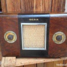 Radios de válvulas: RADIO A VÁLVULAS IBERIA , ESPAÑOLA.. Lote 121315019