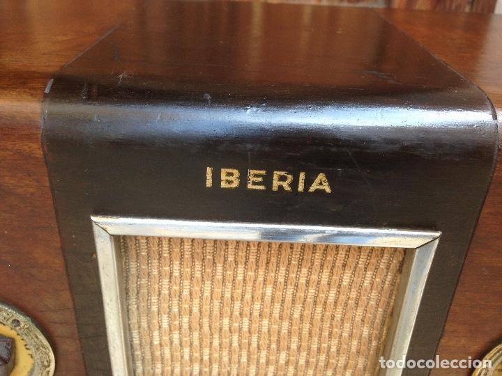 Radios de válvulas: Radio a válvulas Iberia , española. - Foto 2 - 121315019