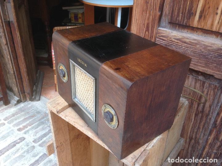 Radios de válvulas: Radio a válvulas Iberia , española. - Foto 3 - 121315019