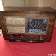 Radios de válvulas: ANTIGUA RADIO DE VÁLVULAS. Lote 122226122