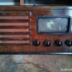 Radios de válvulas: ANTIGUA RADIO DE VALVULAS FUNCIONANDO. Lote 122014915
