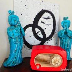 Radios de válvulas: RADIO ANTIGUA ASKAR DE COLECCIÓN VINTAGE. Lote 122111331