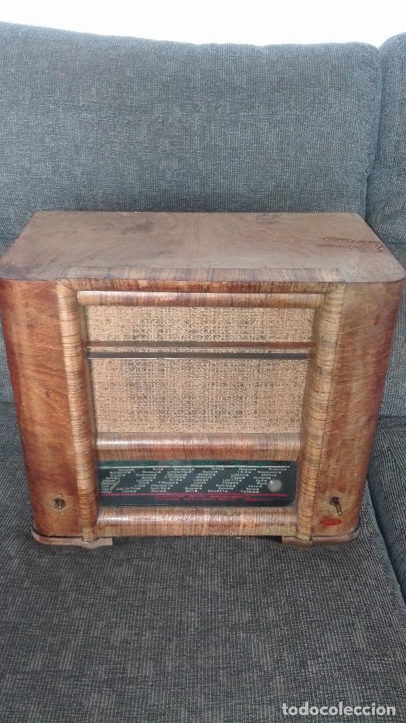 Radios de válvulas: radio francesa erpe.años 30 - Foto 5 - 177130757