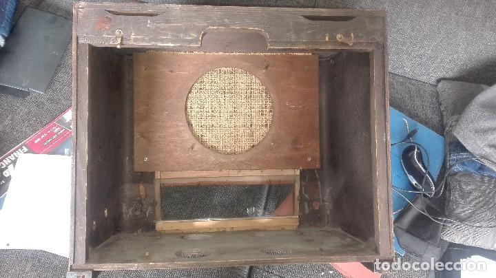 Radios de válvulas: radio francesa erpe.años 30 - Foto 6 - 177130757