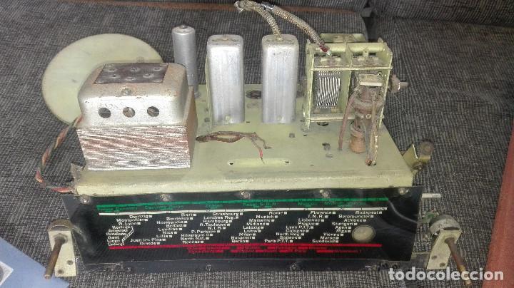 Radios de válvulas: radio francesa erpe.años 30 - Foto 8 - 177130757