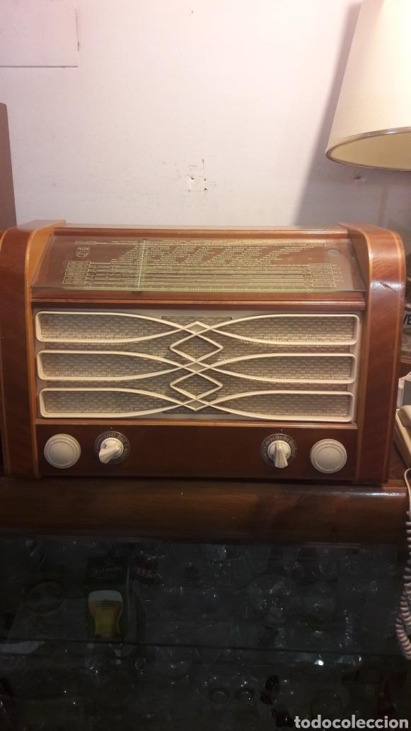 RADIO PHILIPS TODA ORIGINAL FUNCIONANDO (Radios, Gramófonos, Grabadoras y Otros - Radios de Válvulas)