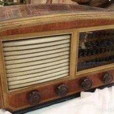 Radios de válvulas: RADIO DE VÁLVULAS ANTIGUA. MARCA INTER. AÑOS 60-70. Lote 125964067