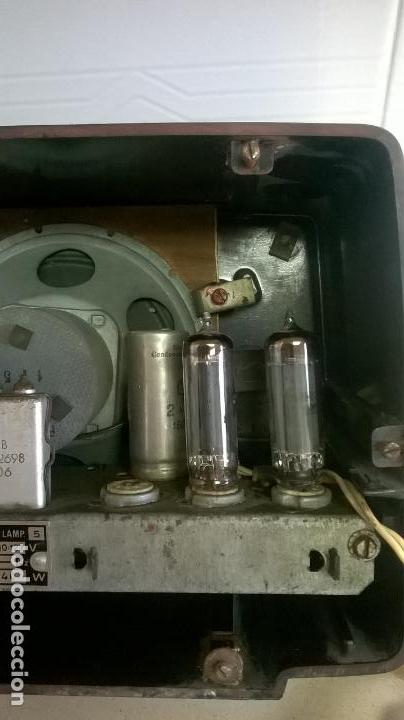 Radios de válvulas: Radio.Philips.De baquelita.Medida 25x13 - Foto 14 - 126311075