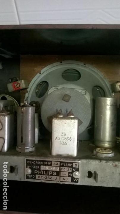 Radios de válvulas: Radio.Philips.De baquelita.Medida 25x13 - Foto 15 - 126311075