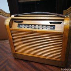 Radios de válvulas - Radio finco. Caja de madera y de lamparas. Muy raro - 126356078
