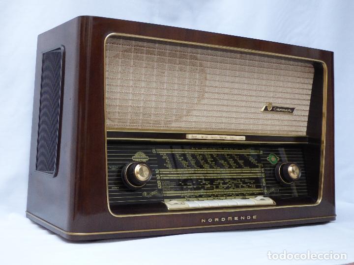 ANTIGUA RADIO DE VÁLVULAS NORDMENDE, CARMEN 58-3D, FUNCIONANDO CON BUEN SONIDO (VER VÍDEO). (Radios, Gramófonos, Grabadoras y Otros - Radios de Válvulas)