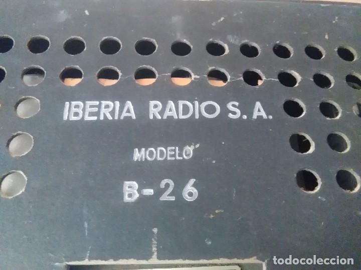 Radios de válvulas: Radio Iberia s a B =26 modelo i c 5 30x15x15 - Foto 8 - 127642123