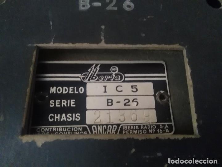 Radios de válvulas: Radio Iberia s a B =26 modelo i c 5 30x15x15 - Foto 9 - 127642123