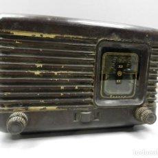 Radios de válvulas: ANTIGUA RADIO DE VÁLVULAS BAQUELITA MARCA PIONER RUSIA USSR BONITA PIEZA DE COLECCIÓN. Lote 127889311