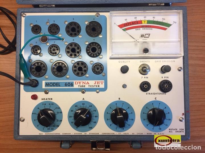 AMERICANO COMPROBADOR VALVULAS B&K 606 FUNCIONA PERFECTO (Radios, Gramófonos, Grabadoras y Otros - Radios de Válvulas)