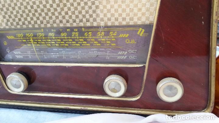 Radios de válvulas: Radio de válvulas antigua. Marca INTER BERING. Precioso objeto años 60-70 - Foto 5 - 128000519