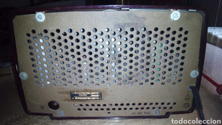 Radios de válvulas: Pequeña Radio Philips BX135U/81 Funcionando - Foto 10 - 128113807