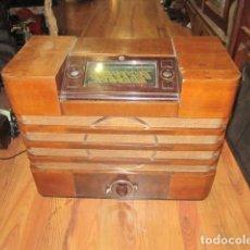 Radios de válvulas: RADIO PHILIPS FRANCE MODELO 796A AÑO FABRICACIÓN 1936 DIAL ABATIBLE MONO MANDO DE COLECCIÓN. Lote 128263987