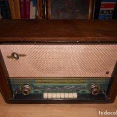 Radios de válvulas: RADIO ASKAR / MODELO 481-A - GRANDE / CAJA DE MADERA / 6 LAMPARAS. Lote 128427683