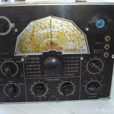 Radios de válvulas: BONITA YRARA RADIO DE 1938 1940 TODA EN METAL VER FOTOS. Lote 128845519