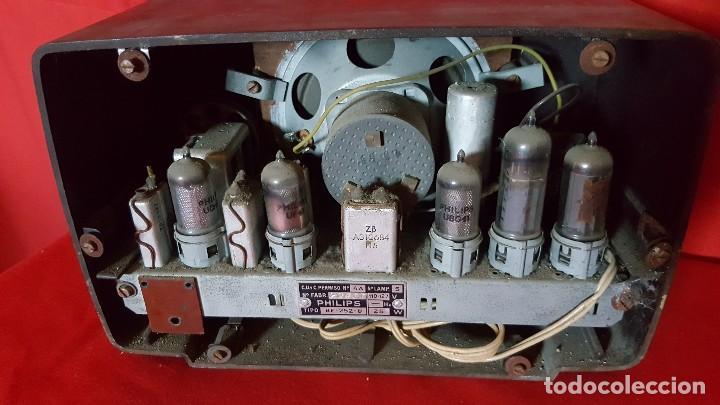 Radios de válvulas: Radio Philips de pequeño tamaño para restaurar. - Foto 4 - 129015635