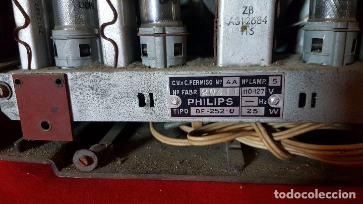 Radios de válvulas: Radio Philips de pequeño tamaño para restaurar. - Foto 5 - 129015635