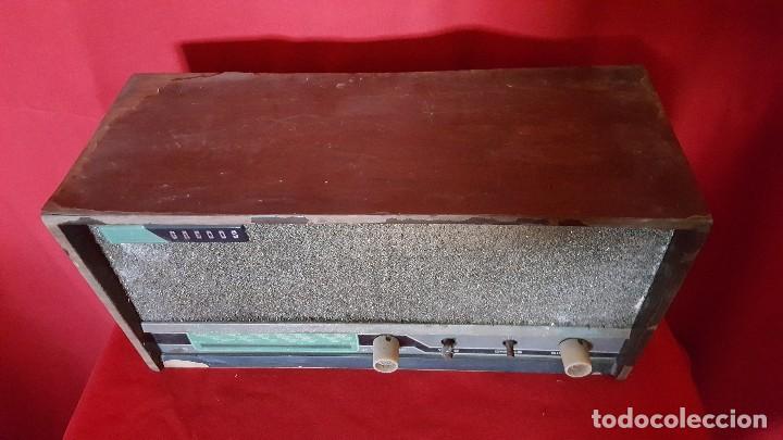 Radios de válvulas: Radio modelo Gredos para restaurar. - Foto 4 - 129016131