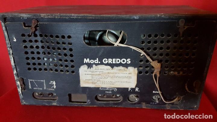 Radios de válvulas: Radio modelo Gredos para restaurar. - Foto 5 - 129016131