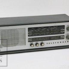 Radios de válvulas: ANTIGUA RADIO DE VÁLVULAS - TELEFUNKEN. CAMPANELA A-2636 FM - RESTAURACIÓN O PIEZAS - AÑOS 60. Lote 129513751