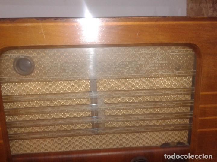 Radios de válvulas: radio grundig type 2010 en caja de madera - Foto 2 - 131306991