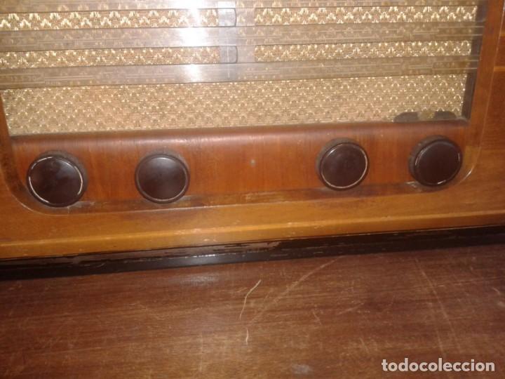 Radios de válvulas: radio grundig type 2010 en caja de madera - Foto 4 - 131306991