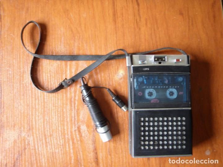 REPRODUCTOR GRABADORA PHILIPS VINTAGE (Radios, Gramófonos, Grabadoras y Otros - Radios de Válvulas)
