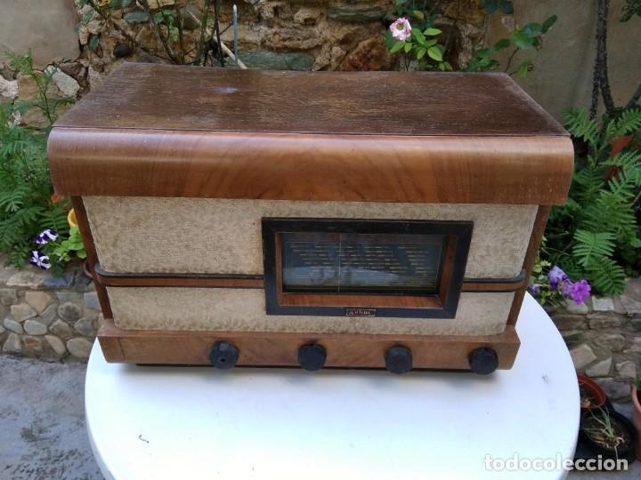RADIO ASKAR ANTIGUA (Radios, Gramófonos, Grabadoras y Otros - Radios de Válvulas)
