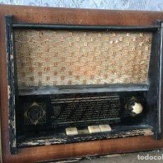 Radios de válvulas: RADIO OHMEWATT FUNCIONANDO 220V.CAJA PARA ARREGLAR. Lote 131710346