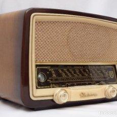 Radios de válvulas: ANTIGUA RADIO DE VÁLVULAS NORDMENDE ELEKTRA 56, PRECIOSA, FUNCIONANDO CON GRAN SONIDO (VER VÍDEO).. Lote 132787530