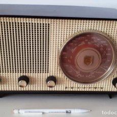 Radios de válvulas: RADIO PHILIPS B2X71U/19. FUNCIONA CORRECTAMENTE 220 V. VER VIDEO.. Lote 132798574