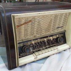 Radios de válvulas: RADIO DE VÁLVULAS ANTIGUA. MARCA TELEFUNKEN CONCERTINA. AÑOS 50-60. Lote 133095634