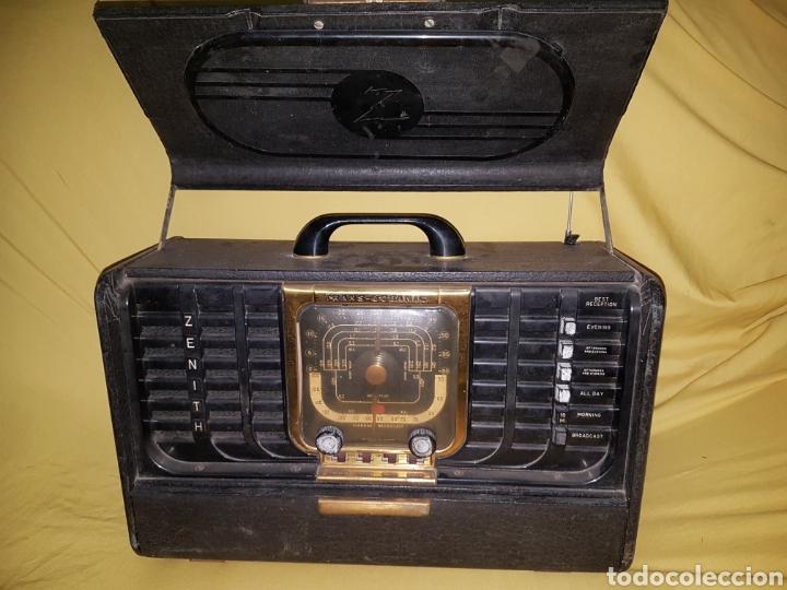 ANTIGUA RADIO TRANS OCEANIC ZENITH (Radios, Gramófonos, Grabadoras y Otros - Radios de Válvulas)
