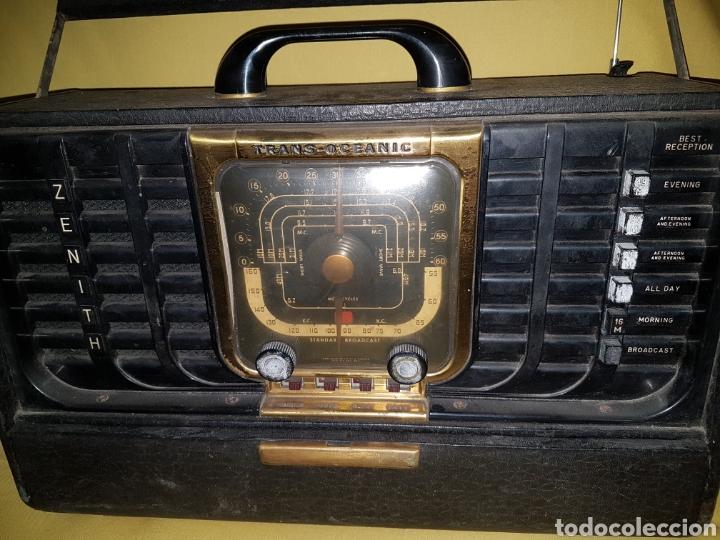 Radios de válvulas: Antigua radio trans oceanic zenith - Foto 2 - 133318537