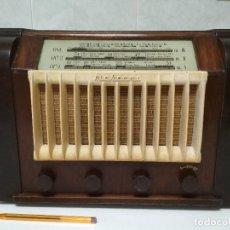 Radios de válvulas: ANTIGUA RADIO ESPAÑOLA MARCONI - FUNCIONANDO - VER VÍDEO. Lote 133730034