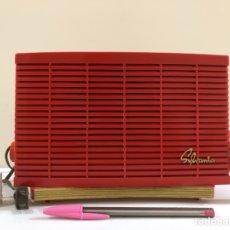 Radios de válvulas: RADIO DE VÁLVULAS SYLVANIA R5151, ROJA, AMERICANA, ANTIGUA, VINTAGE. Lote 133781650